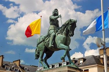 Statue de Jeanne d'Arc - Place du Martroi